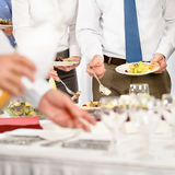 Business catering for company event royalty free stock image