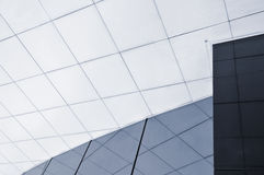 Business center. Modern building glass detail in Lisbon, Portugal Royalty Free Stock Photo
