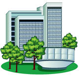 Business Center Stock Image
