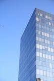 Business center. The business center against the blue sky stock photos