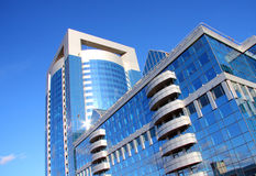 Business center. Modern building of business center Royalty Free Stock Photo
