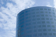 Business center, blue sky Royalty Free Stock Photos