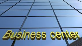 Business center building. 3D images Royalty Free Stock Images