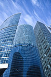 Business center buildings Royalty Free Stock Photos