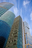 Business center buildings. New business center buildings in Moscow royalty free stock photography