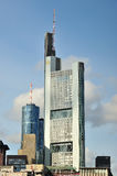 Business Center in Frankfurt Royalty Free Stock Image
