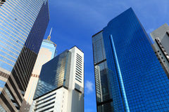 Business center in Hong Kong Stock Image