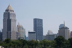 Business Center In Bangkok Royalty Free Stock Images