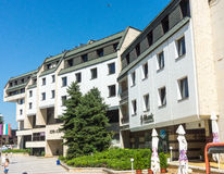 Business Center in Lovech, Bulgaria royalty free stock photo