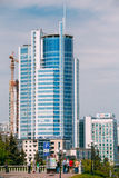 Business Center in Minsk, Belarus Royalty Free Stock Photography