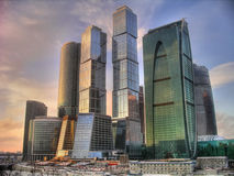 Business center of Moscow Stock Photo