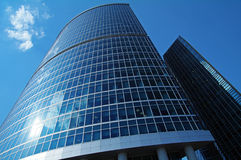 Business Center Moscow City. Stock Images
