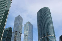 Business center Moscow-City Royalty Free Stock Photography
