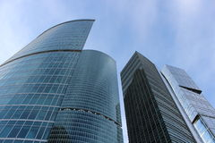 Business center Moscow-City Stock Photo
