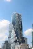 Business center Moscow-City. Evolution Tower. Evolution Tower in Moscow-city Stock Photo
