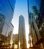 Business Center Moscow City. Office Business Center Moscow City Royalty Free Stock Images