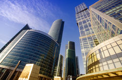 Business Center Moscow City Royalty Free Stock Photo