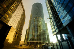 Business Center Moscow City Royalty Free Stock Photos