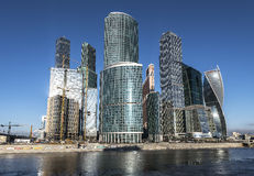 Business center Moscow-City Royalty Free Stock Image