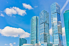 Business Center Moscow City Stock Image
