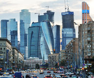 Business center Moscow city Stock Photo