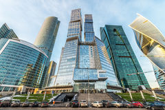 Business center Moscow-city. Royalty Free Stock Images
