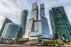 Business center Moscow-city. Royalty Free Stock Image