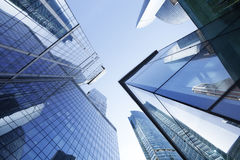 Business center. Office buildings. Moscow skyscrapers Stock Images