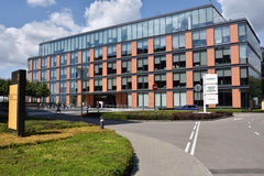 Business center Olympia park in Moscow, Russia Stock Photography