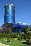 Business center SANKT-PETERBURG in Astana Stock Photo