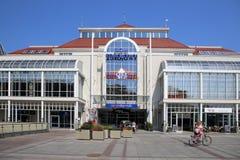 The business center in Sopot, Poland. The business center on the central square in Sopot, Poland Stock Photos