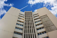 Business center on sunny day Royalty Free Stock Images