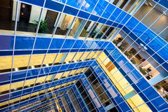 Business center walls Royalty Free Stock Photography
