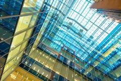 Business center walls Stock Photo