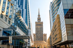Business center in Warsaw Stock Images