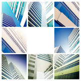 Business centre. Illustration of the architecture of the business centre Stock Images