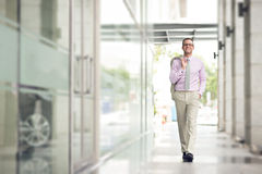 In the business centre Royalty Free Stock Image