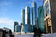 Business centre in Moscow Stock Image