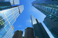 Business centre Moscow city, Russia. Stock Photos