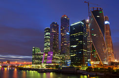 The business centre in Moscow Stock Photo