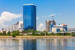 Business centre Panorama, Krasnoyarsk Stock Images