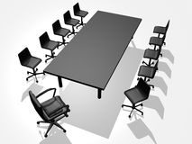 Business chair stock photos
