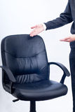 Business chair. Please take a sit on the chair Royalty Free Stock Images