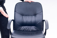 Business chair. Please take a sit on the chair Stock Photography