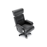 Business chair. 3d render of gray business chair Royalty Free Stock Images