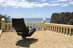 Business Chair on Vacation Royalty Free Stock Images
