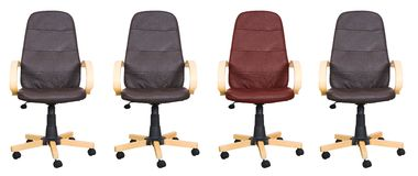 Business chairs - be different Royalty Free Stock Photo