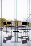 Business chairs and table Stock Photo