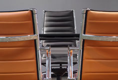 Business chairs Stock Image