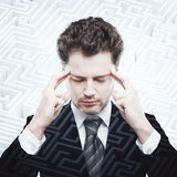 Business challenge concept Royalty Free Stock Image
